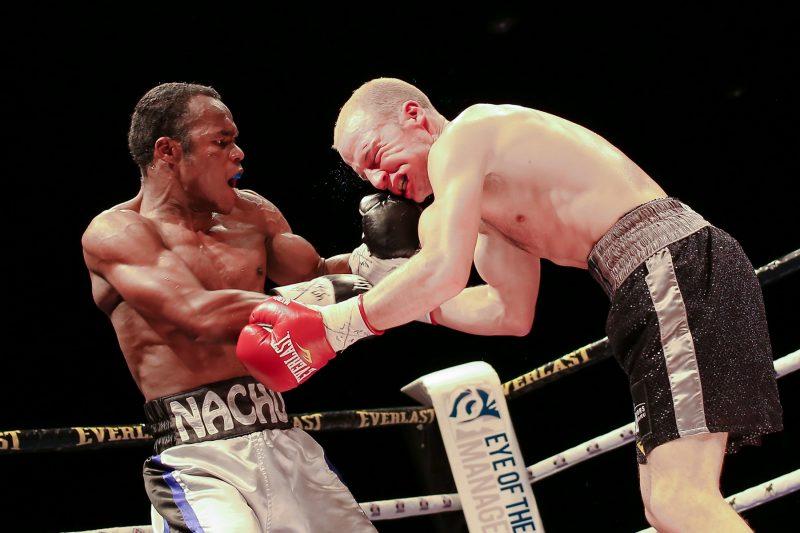 Malgré sa défaite par KO au septième round, David Théroux affirme qu'il se relèvera et deviendra encore plus fort. | Photo: TC Média – Pascal Cournoyer