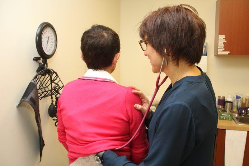 Les soins seront dispensés  à un point de service ou à la maison. | TC Média - Pascal Cournoyer