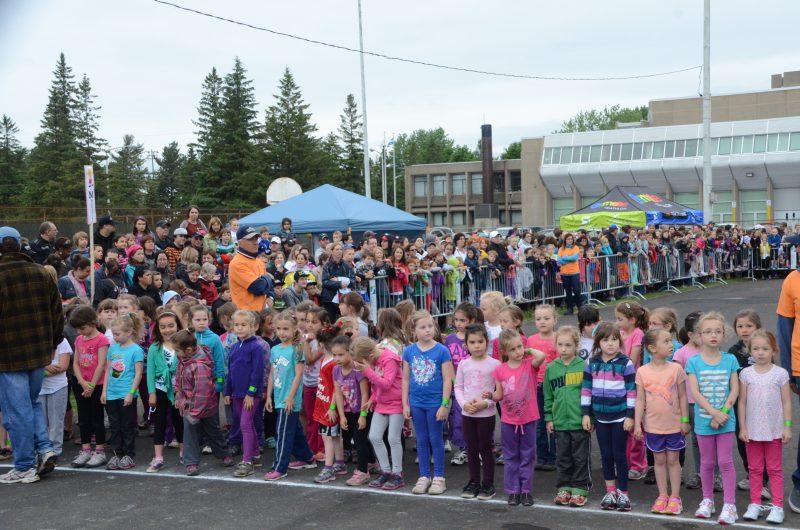 La course des jeunes attire bon an mal an 3000 personnes sur le site, dont 1000 jeunes coureurs. | Photo: TC Média - Jean-Philippe Morin