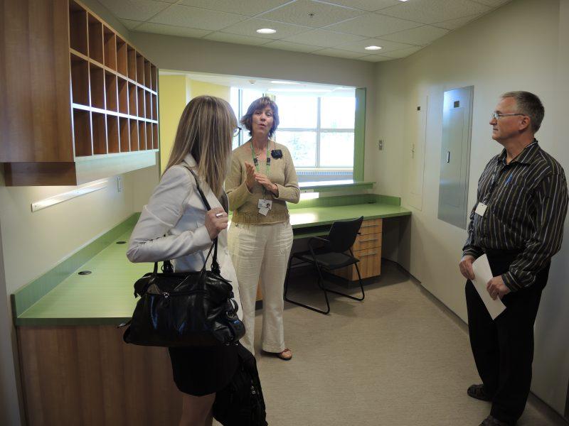 L'Hôtel-Dieu de Sorel a inauguré la nouvelle unité de psychiatrie au 4e étage. | TC Média - Sarah-Eve Charland