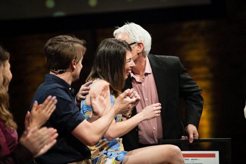 La Soreloise Vanessa Cournoyer a remporté le concours télévisé Laboratoire MAtv, le 31 mai dernier. | PHOTO: Gracieuseté - Marie-Pier Boisvert