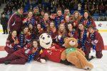 Hockey féminin aux Jeux du Québec. Une médaille inattendue