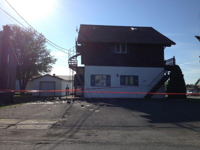 Les policiers de la Sûreté du Québec ont arrêté une femme, le 29 mai à Sorel-Tracy, pour avoir provoqué un incendie dans trois bacs de recyclage. | Gracieuseté - Kévin Arseneault