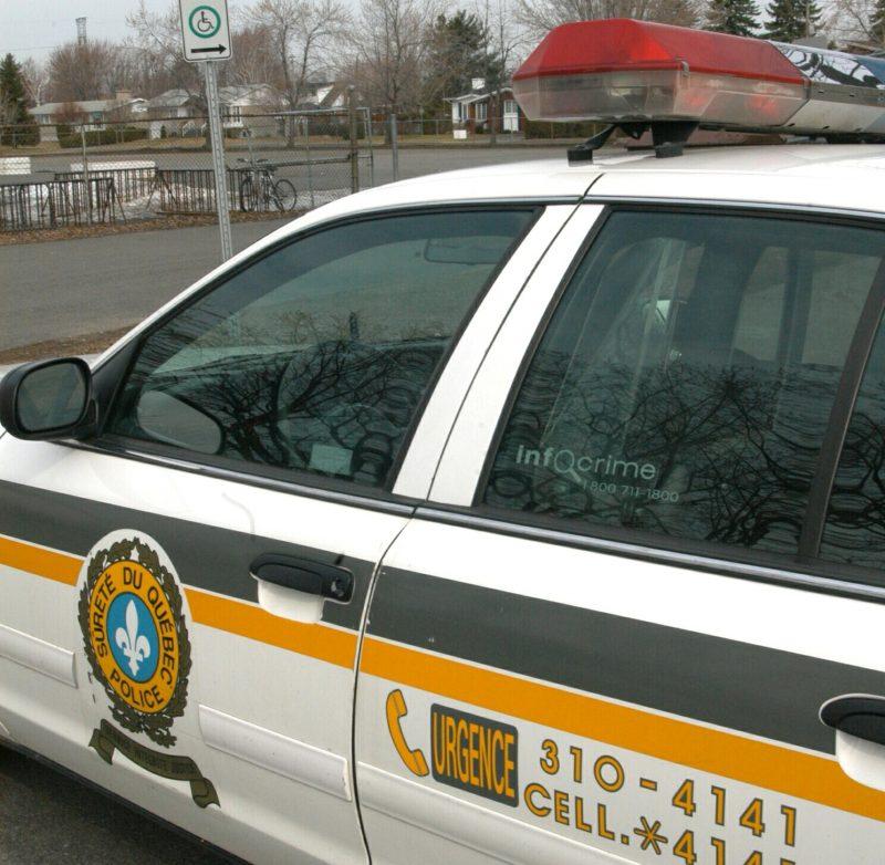 Une poursuite policière a eu lieu aujourd'hui sur la route Marie-Victorin. | Photo: TC Média - Archives