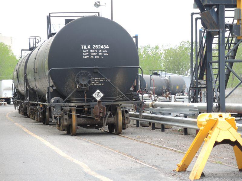 Le gouvernement fédéral a annoncé des normes plus strictes concernant les wagons-citernes transportant du pétrole brut. | Tc média - Pascal Cournoyer