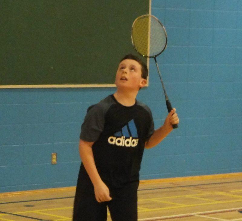 Alexis Hogue est un espoir des Polypus en badminton. | Photo: gracieuseté