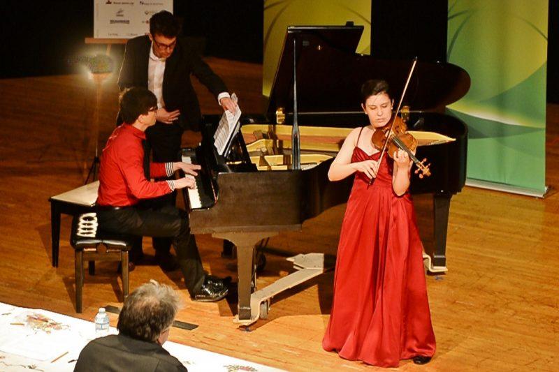 La violoniste Marie Bégin a remporté la 13e édition du Festival-concours de musique classique Pierre-De Saurel, qui se déroulait du 1er  au 10 mai. | www.philippemanning.com