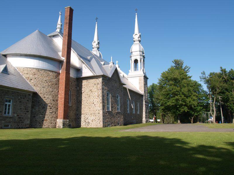 L'église St-Aimé, à Massueville. | Photo:TC Média - Louise Grégoire-Racicot