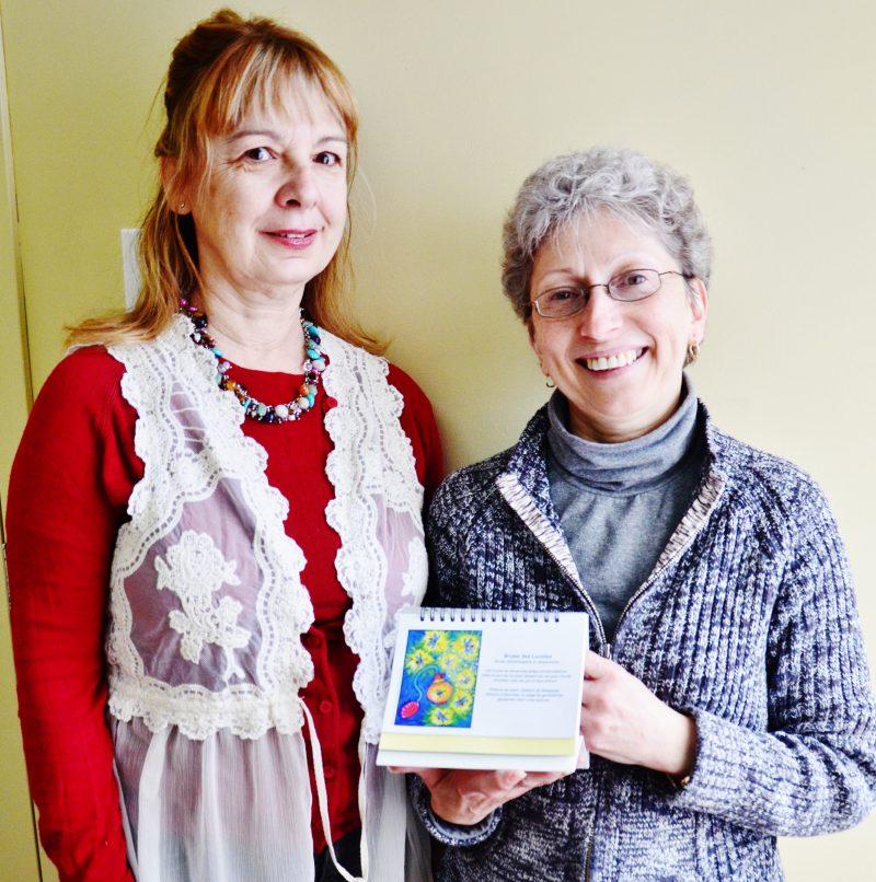Les instigatrices de l'événement, Francine Grimard et Sylvie Demers.   Photo : TC Média – Julie Lambert