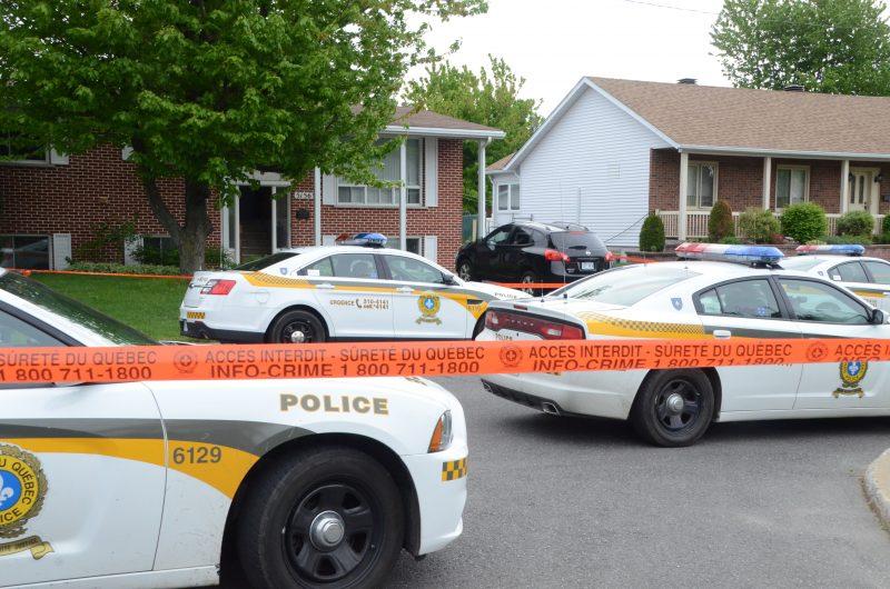 Deux personnes sont décédées le matin du 21 mai, dans le secteur Tracy. | Photo: TC Média - Jean-Philippe Morin