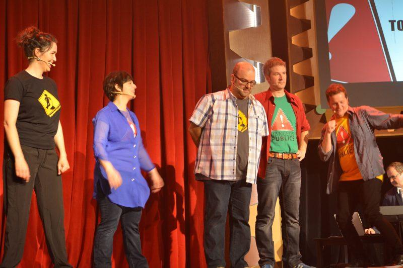 De nombreux invités se relayeront lors des représentations de la nouvelle production Danger public. | Photo: Collaboration spéciale, Mylène Laberge