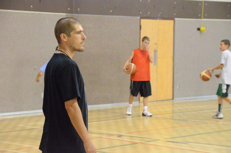 Carl Turcotte est l'instigateur de cette journée de basketball à Sorel-Tracy. | Photo: TC Média – Jean-Philippe Morin