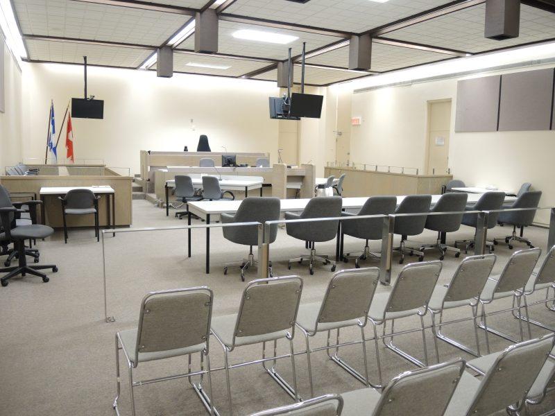Une salle de cour | TC Média - Sarah-Eve Charland