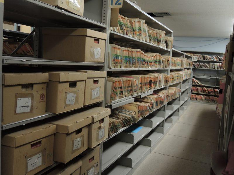 Le palais de justice garde des milliers d'archives. | TC Média - Sarah-Eve Charland