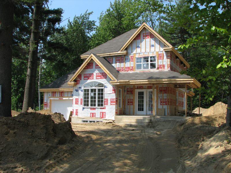 La construction domiciliaire dans plusieurs secteurs de Sorel-Tracy s'est développée au cours des cinq dernières années. | TC Média - Archives