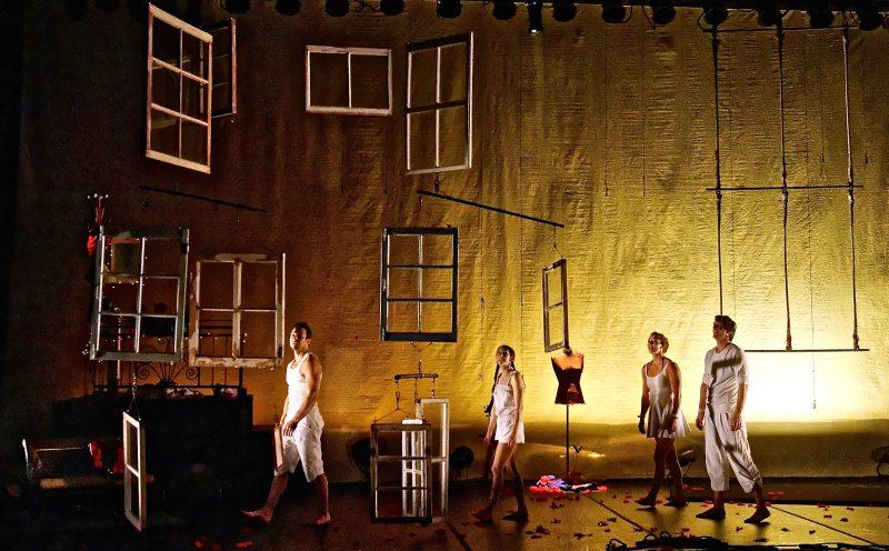 Le Sorelois Jonathan Brochu fait partie des acrobates et des producteurs d'un nouveau spectacle Fen[^]tre. | Photo : Gracieuseté