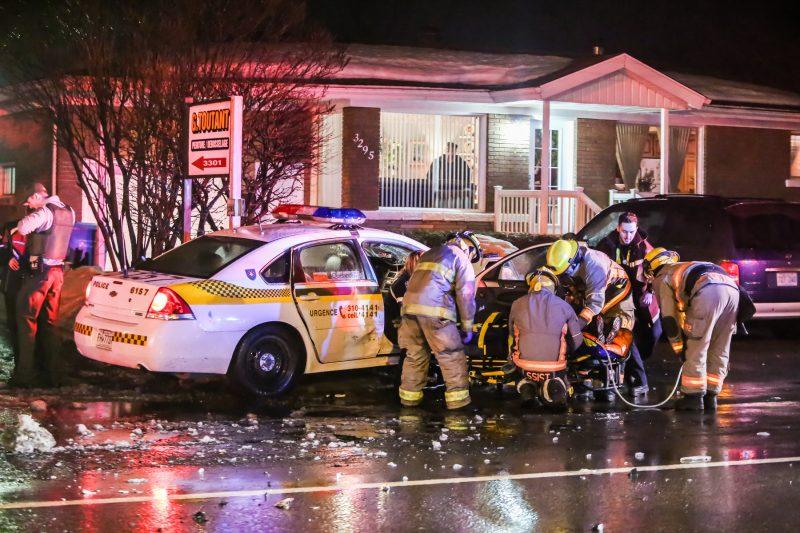 Un accident s'est produit sur le boulevard Fiset à Sorel-Tracy le 1er mars | TC Média - Pascal Cournoyer