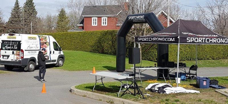 Le Défi Saint-Ours a couronné des coureurs de différents âges. | Gracieuseté - Gilles Péloquin
