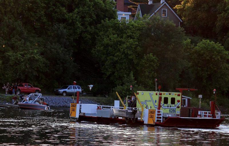 Un kayakiste de 21 ans de Verchères, Gabby Rodrigue, avait péri aux écluses de Saint-Ours le 19 juin 2013. | Photo: Gracieuseté – Sorel-Tracy 911