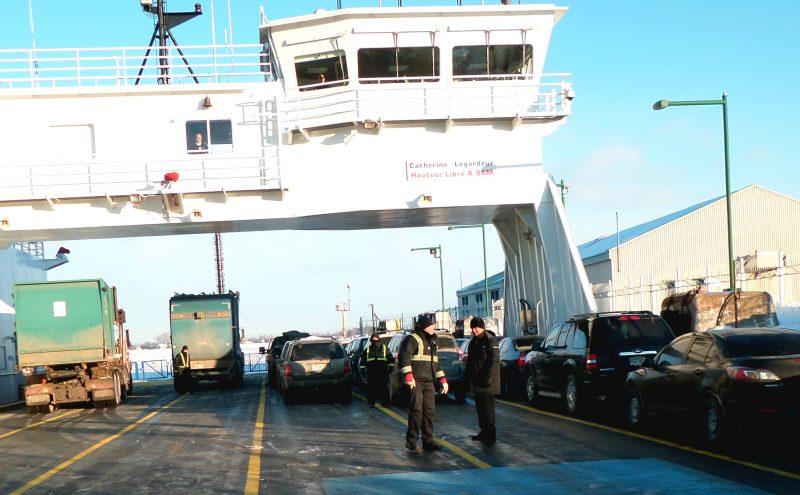 Le traversier reprendra du service dès demain matin. | Photo TC M.dia - Archives