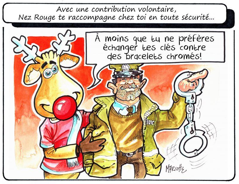 Voici la caricature de Gilles Bill Marcotte concernant les eaux usées. | Gilles Bill Marcotte
