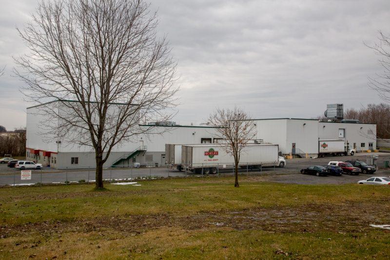 L'usine Viande Richelieu fait l'abattage et la découpe de cheval. | Photo: TC Média - Pascal Cournoyer