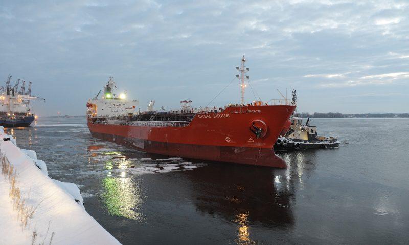 Le Chem Sirius, opéré par Ace Tankers, est le premier navire à atteindre le Port de Montréal en 2017. | Gracieuseté