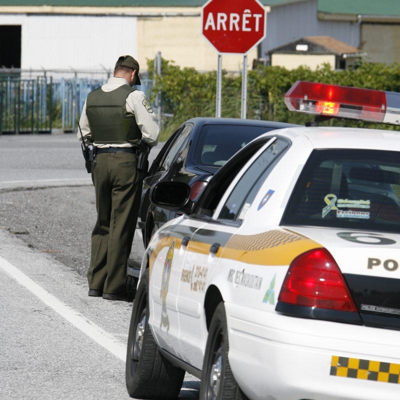Une trentaine d'infractions ont été commises par des automobilistes pris sur le fait lors d'opérations policières concernant la sécurité routière, les 26 et 29 février. | Photo: TC Média - Archives