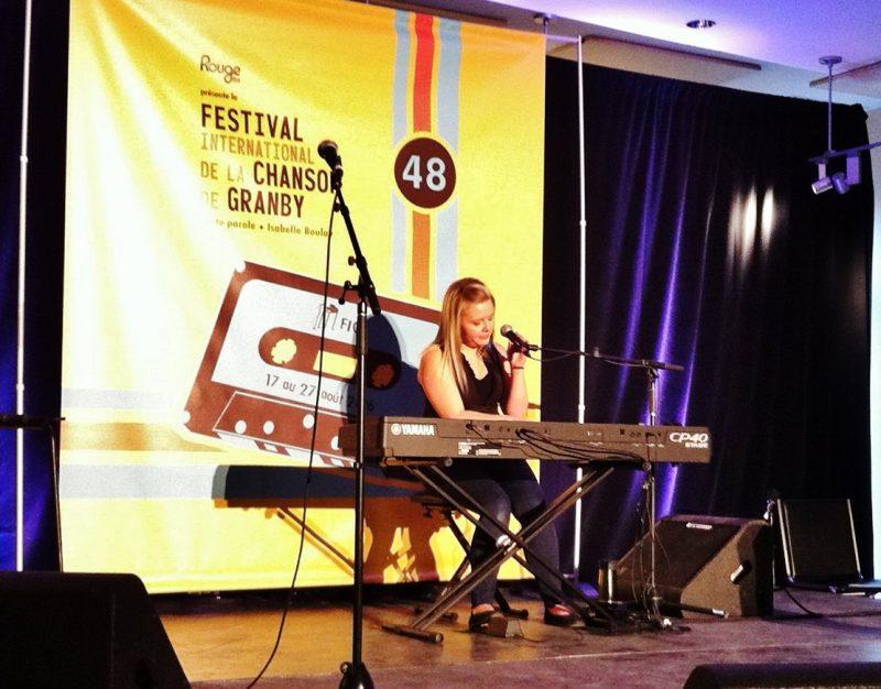 La chanteuse Karolane Millette a passé les auditions pour participer au Festival international de la chanson de Granby en août prochain. | Photo: Gracieuseté