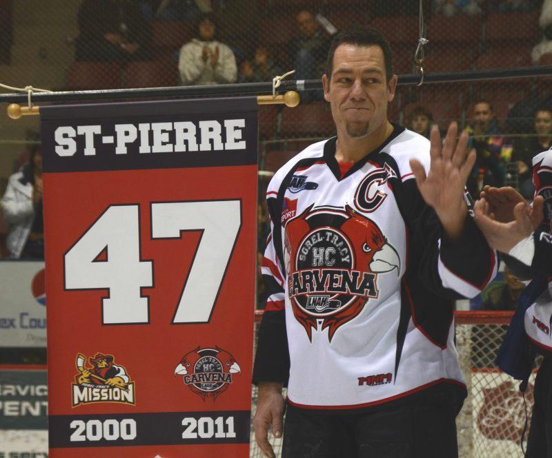 David St-Pierre a fait la pluie et le beau temps avec les équipes senior de Sorel-Tracy dans la Ligue nord-américaine de hockey. Il pourrait être intronisé en octobre prochain. | Photo: TC Média – Jean-Philippe Morin
