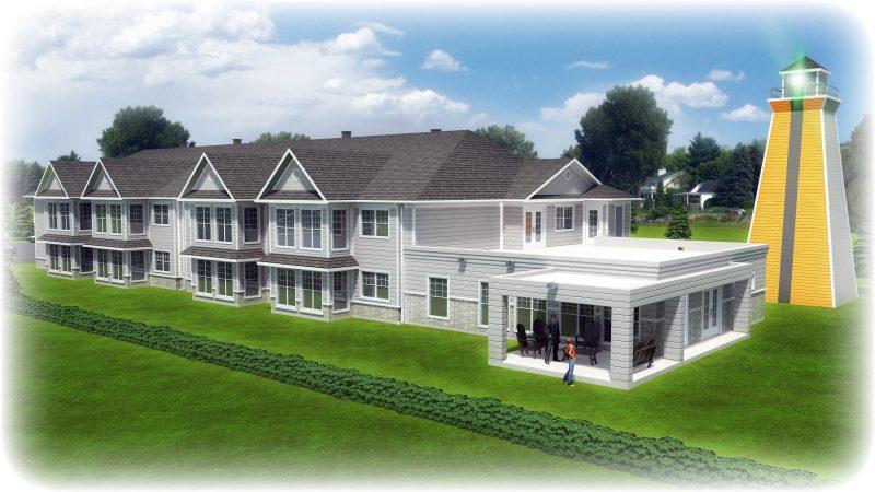 Le projet des Appartements au pays du Survenant devrait voir le jour d'ici le printemps 2017 à Sainte-Anne-de-Sorel. | Gracieuseté