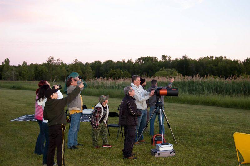 Le Club d'astronomie Saurel regroupe une trentaine de membres. | Gracieuseté