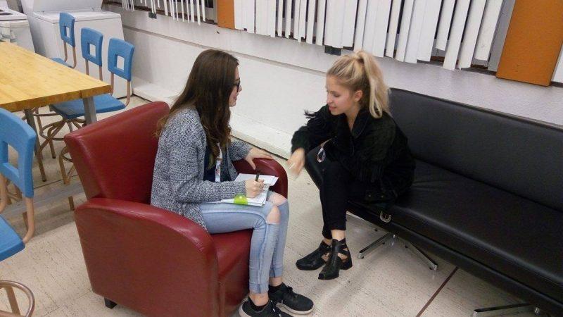 Notre journaliste en herbe Sarah Rodrigue a interviewé Claudia Bouvette le 1er juin. | Gracieuseté