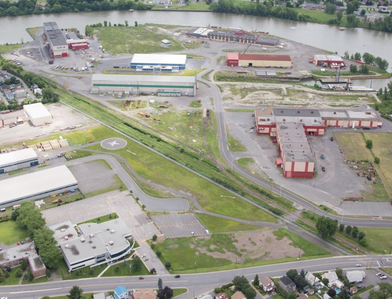 La Société de développement économique a géré le parc industriel Ludger-Simard en 2016. | Gracieuseté
