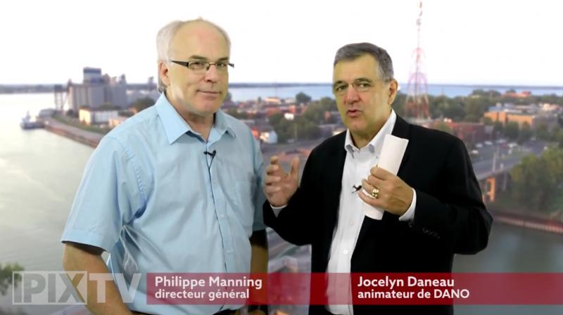 Philippe Manning (à gauche) a créé la plateforme iPix.tv. | Tirée du site www.ipix.tv