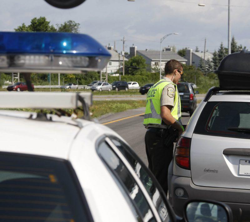 Les policiers de la MRC de Pierre-De Saurel ont arrêté six conducteurs avec les facultés affaiblies en cinq jours. | Photo: TC Média – archives
