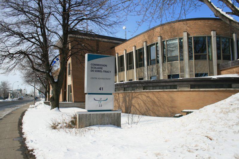 Le centre administratif de la Commission scolaire de Sorel-Tracy serait aussi placé sur un terrain contaminé. | TC Média - Archives
