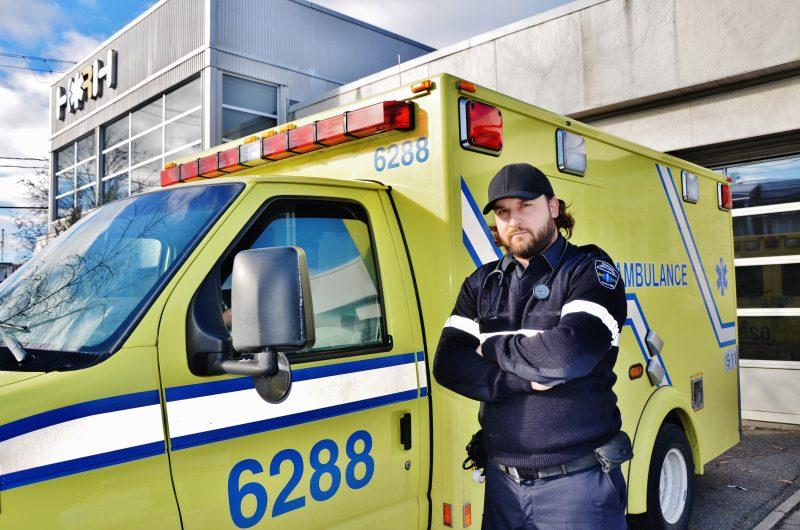 Pierre-Yves Provençal-Charron  est président du syndicat des paramédics d'Ambulance Richelieu. | Photo: TC Média - Archives