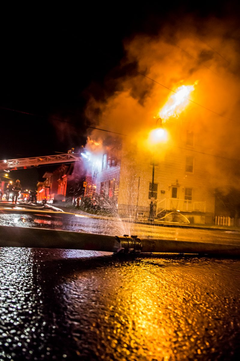 L'édifice de la rue Augusta est une perte totale.   Photo: TC Media - Pascal Cournoyer, Photo: TC Media - Pascal Cournoyer, Photo: TC Media - Pascal Cournoyer, Pascal Cournoyer