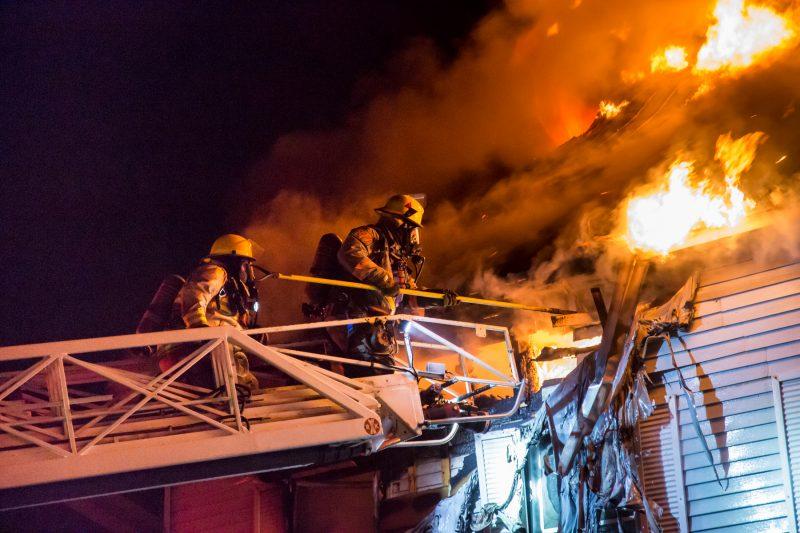 L'édifice de la rue Augusta est une perte totale. | Photo: TC Media - Pascal Cournoyer, Pascal Cournoyer