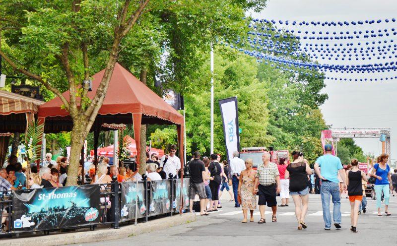 La fête au centre-ville disposera d'un budget de 80 000$ pour être mise sur pied. | Photo: TC Média - Archives