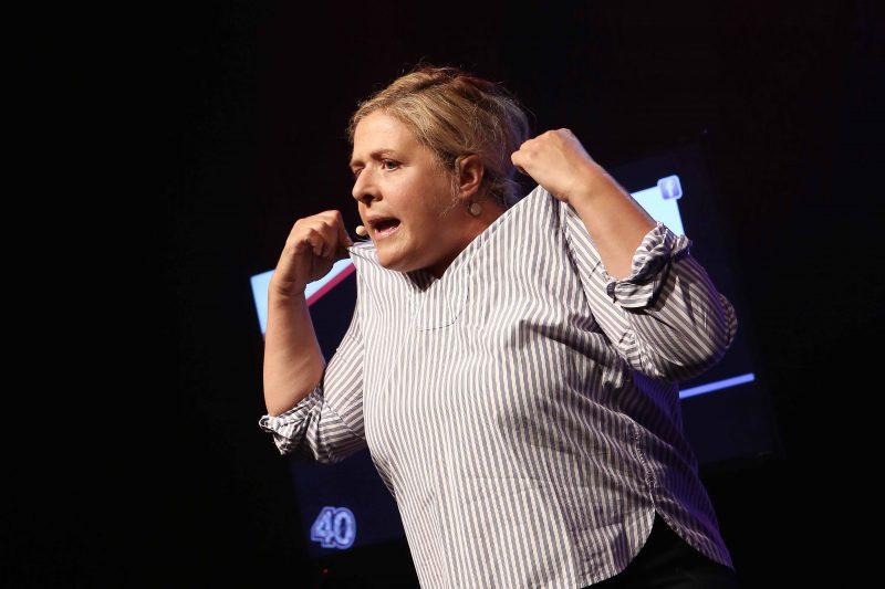 Pouffées de rire seront au rendez-vous au Théâtre du Chenal-du-Moine le 3 juin à 20h alors que l'humoriste Valérie Blais présentera son premier spectacle d'humour.   TC Média – Pierre Langevin