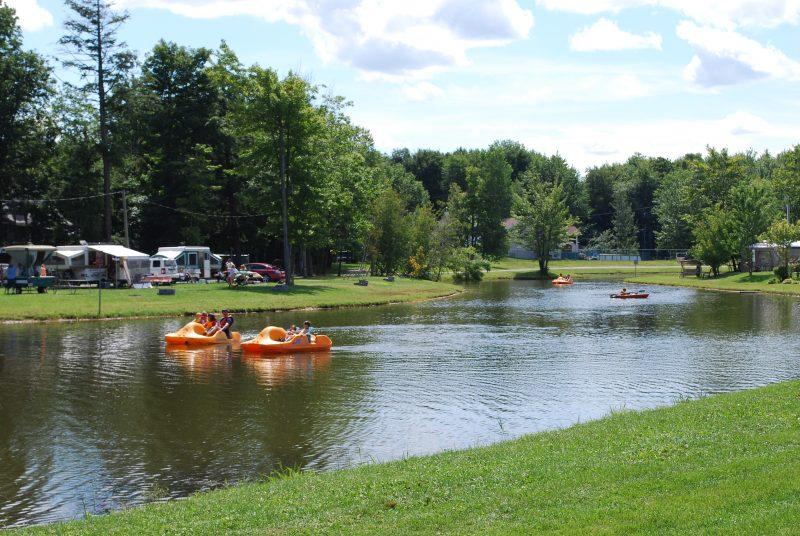 Le Camping des Érables est situé à Saint-Roch-de-Richelieu. | TC Média - Sarah-Eve Charland