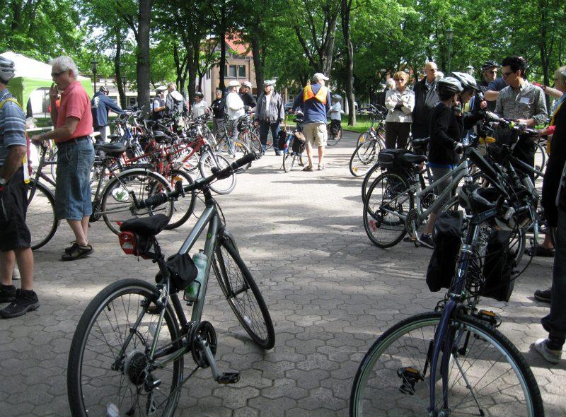 Le maire, Serge Péloquin, pédalera avec les citoyens lors de la Randonnée vélo du maire. | Gracieuseté