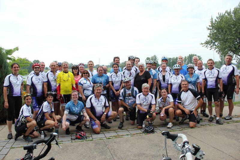 La 6e édition du tour cycliste Roulez pour vaincre la SLA aura lieu aujourd'hui. | Gracieuseté