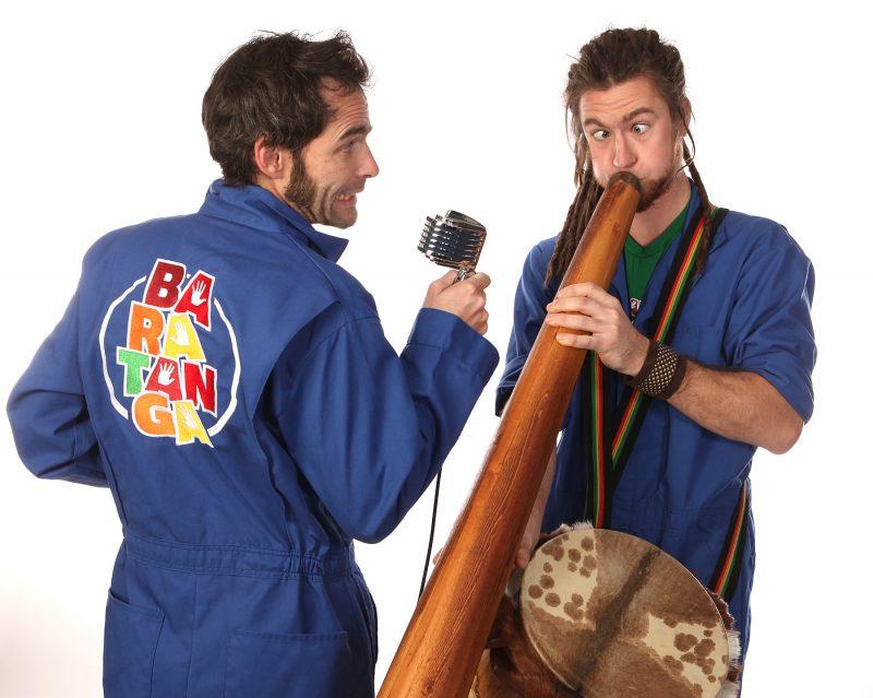 Le duo humoristique et musical pour toute la famille Baratempo divertira le public le 16 octobre. | Photo; Gracieuseté