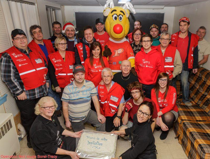 Les bénévoles d'Opération Nez rouge ont effectué près de 960 raccompagnements en 2015. | Gracieuseté/Jean-Marc Mainella