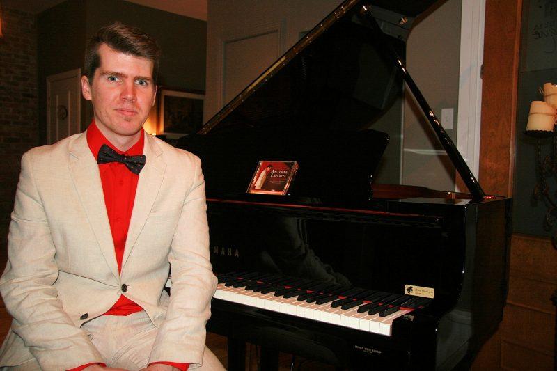 Le pianiste Antoine Laporte. | Photo: Gracieuseté – Jean Doyon