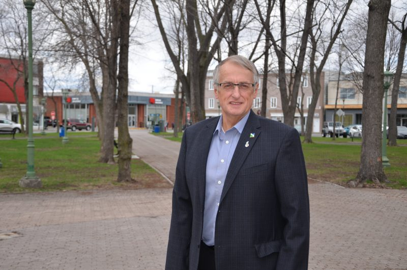 Le conseiller municipal Jocelyn Mondou veut aussi utiliser le reste de son budget discrétionnaire pour un projet spécial. | TC Média - Sarah-Eve Charland