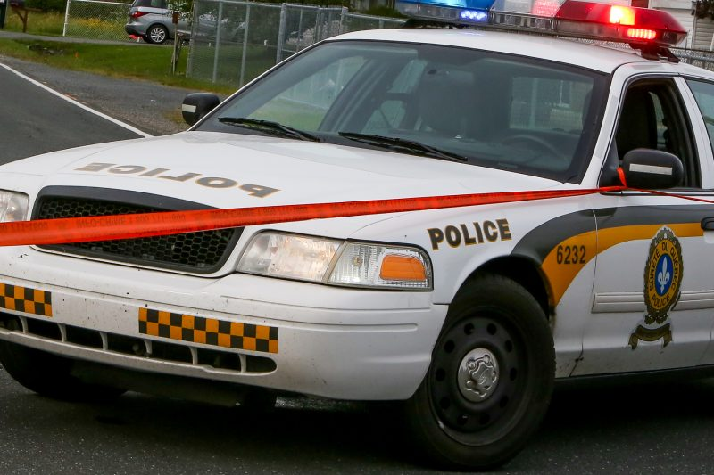Les policiers ont procédé à l'arrestation le 3 juillet | TC Média-Archives/Pascal Cournoyer